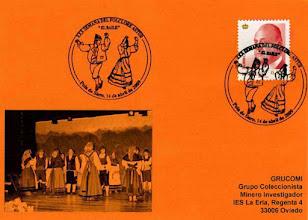 Photo: Matasellos de la XXX Semana del Folclore Astur de Pola de Siero