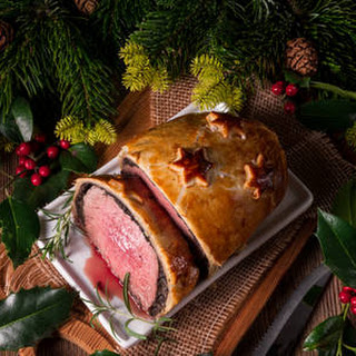 Crescent Roll Beef Wellington.