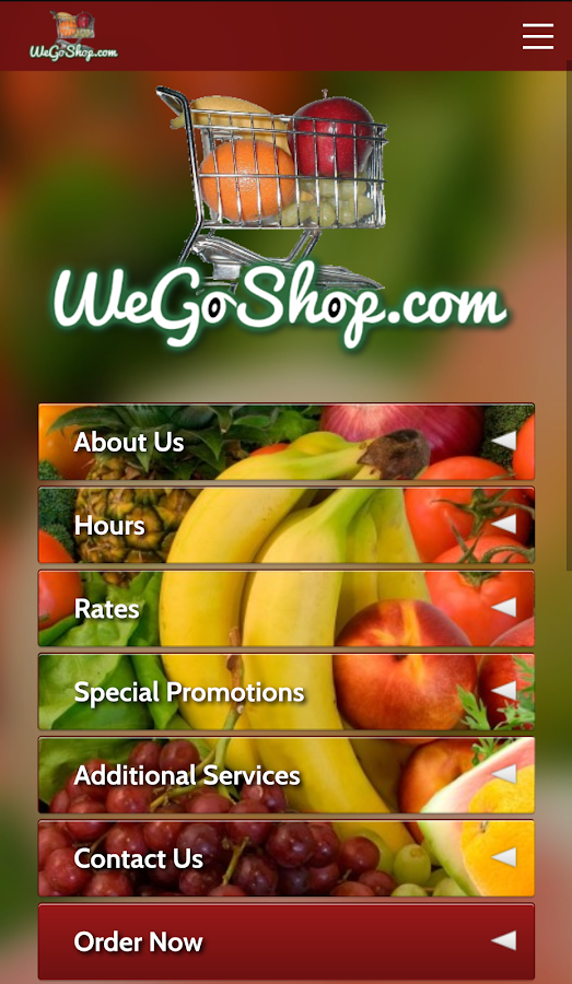 WeGoShop Grocery Delivery- screenshot