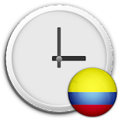 Colombia Clock & RSS Widget