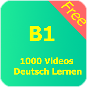 1000 videos b1 deutsch lernen android apps on google play. Black Bedroom Furniture Sets. Home Design Ideas