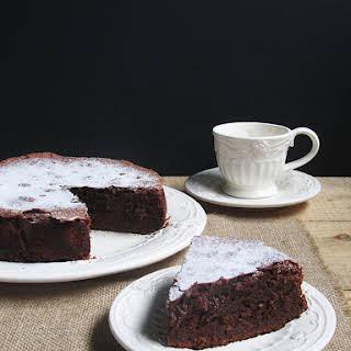 Chocolate Ricotta Cake.