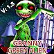 green alien Granny V2: Horror Scary MOD