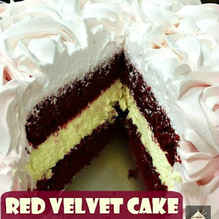 Red Velvet Cake Cheesecake.