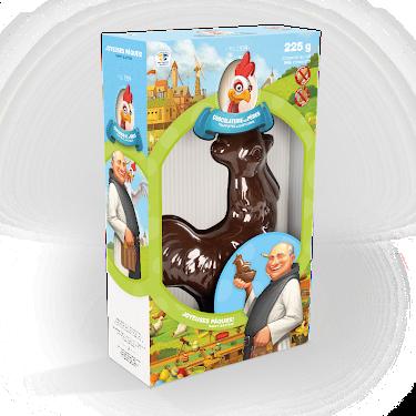 Chocolat Coq duc au lait Figurines régulières
