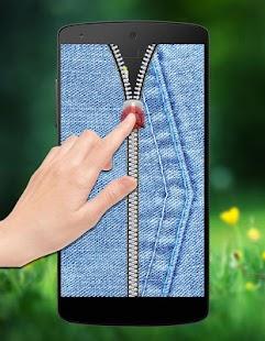 Jeans Zipper Lock screenshot
