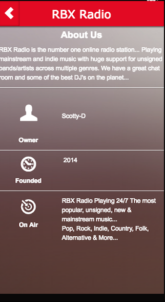 RBX Radio- screenshot