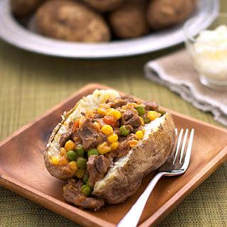 Shepherd's Pie Baked Potato.
