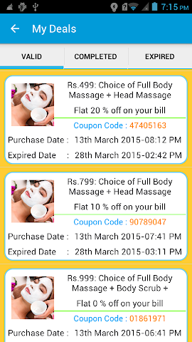 Screenshots for DealsForSure  Save Money