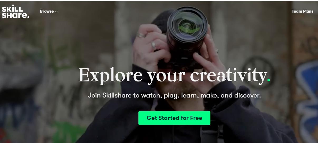 Online Learning Platform - Skillshare