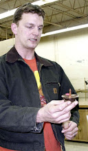 Photo: Jerry Mauch with his next ring/jewelry holder design
