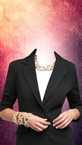 Women Jacket Suit Photo Maker screenshot 2