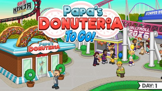 Papa's Donuteria To Go! Screenshot