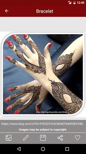玩免費遊戲APP|下載Mehndi Design Heena tattos app不用錢|硬是要APP