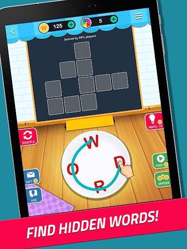 Crossword Jam: A word search and word guess game  gameplay | by HackJr.Pw 7