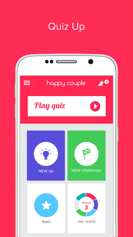 Happy Couple - love quiz- screenshot
