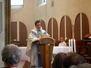 Photo: Kázání otce provinciála.