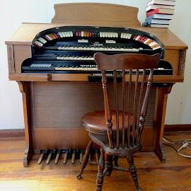 Church organ by Philippe Smith-Smith - Artistic Objects Musical Instruments ( organ, music, church organ, old, church )