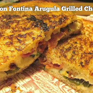Bacon Fontina Arugula Grilled Cheese