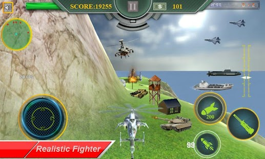 Helicopter Attack 3D - náhled