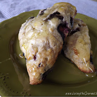 Blueberry & Orange Scones.