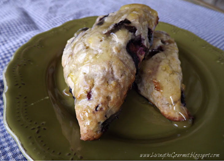 Blueberry & Orange Scones