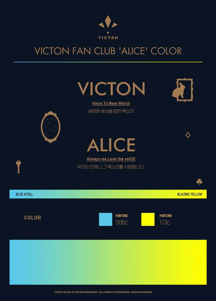 victon fan colors