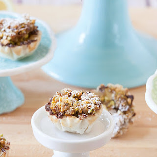 Mini Pistachio Baklava Tarts Recipe