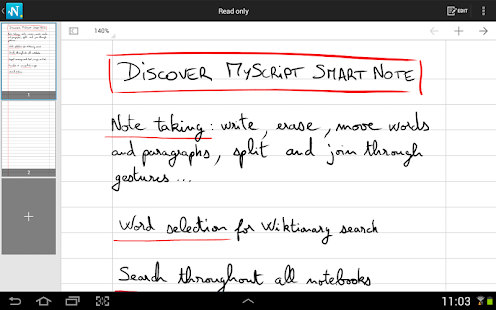 MyScript Smart Note Screenshot 9
