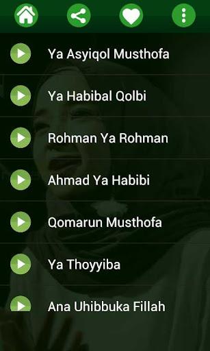 Lagu Sholawat Nissa Sabyan MP3 Offline 1.0 screenshots 8