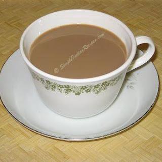 Ginger Cardamom Tea.