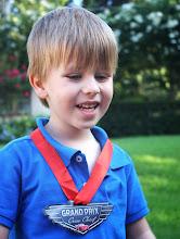 Photo: The almost-Birthday Boy!