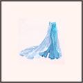ドレス★雪の女王・エルサ