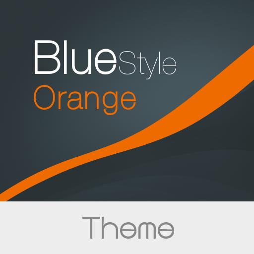 Blue Style -  Orange Theme