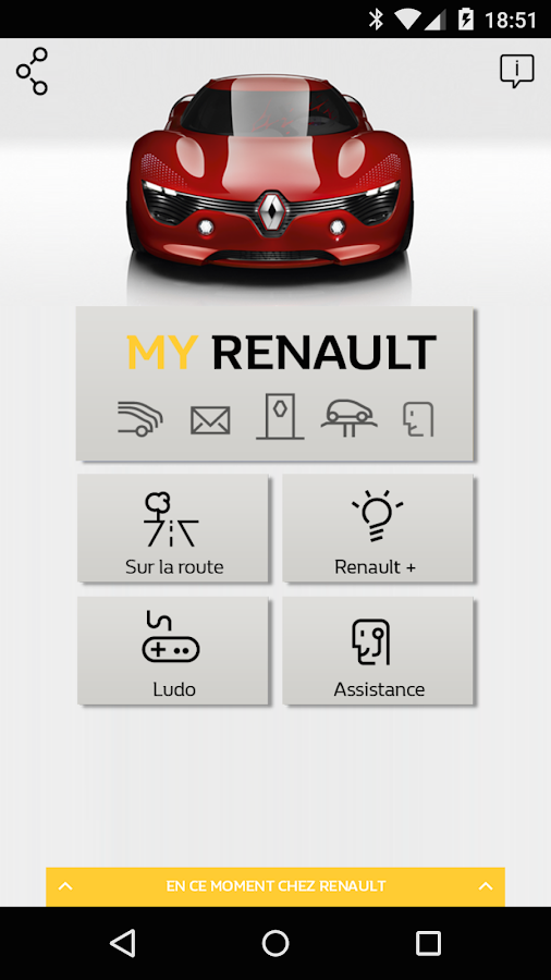 MyRenault- screenshot