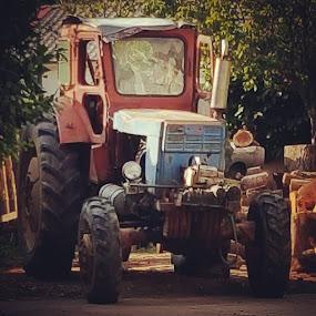 Tractor by Oliver Bucek - Transportation Other