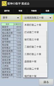 阪神タイガースの数字 阪成会 1936-2016 screenshot 0