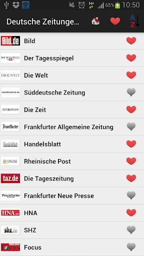 德國報紙和新聞