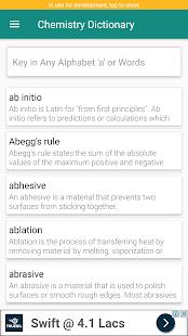 Chemistry Dictionary - náhled