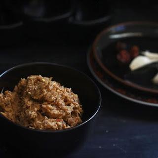 Fried Coconut Chutney recipe-Nariyal Chutney