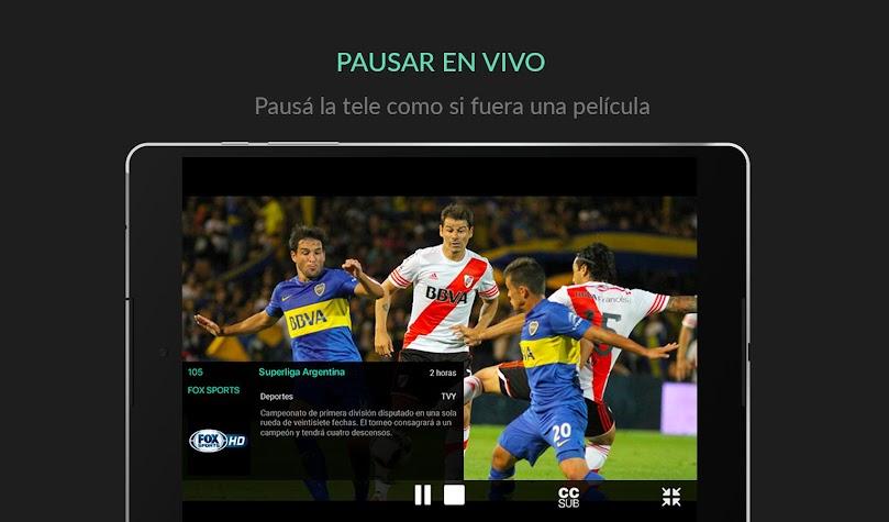 Cablevisión Flow Screenshot