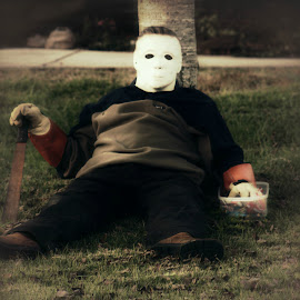 Michael Myers by Karen Carter Goforth - Public Holidays Halloween ( halloween, killer, costume,  )
