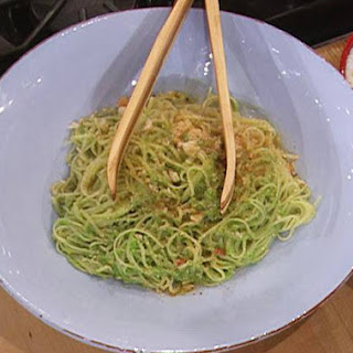 Mario Batali's Linguine with Jalapeo Pesto