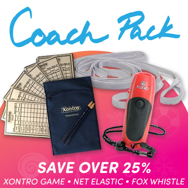 Coaches Pack - 1 Xontro, 1 Electronic Whistle, 1 Net Elastic