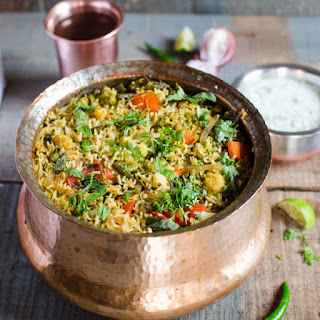 One Pot Vegetable Biryani