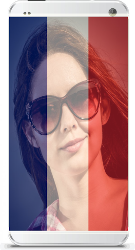 FRENCH FLAG FACE PROFILE MAKER