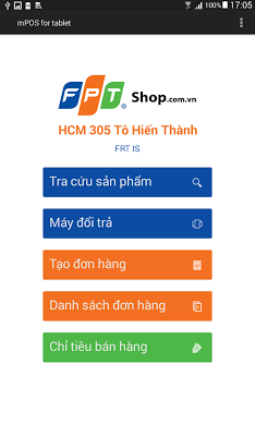 MPOS - screenshot