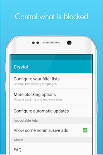 Crystal Adblock for Samsung- screenshot thumbnail