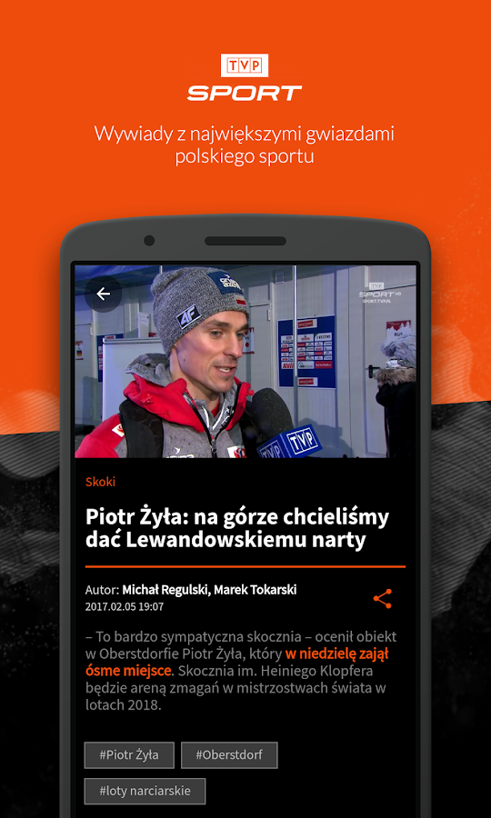 TVP Sport- screenshot