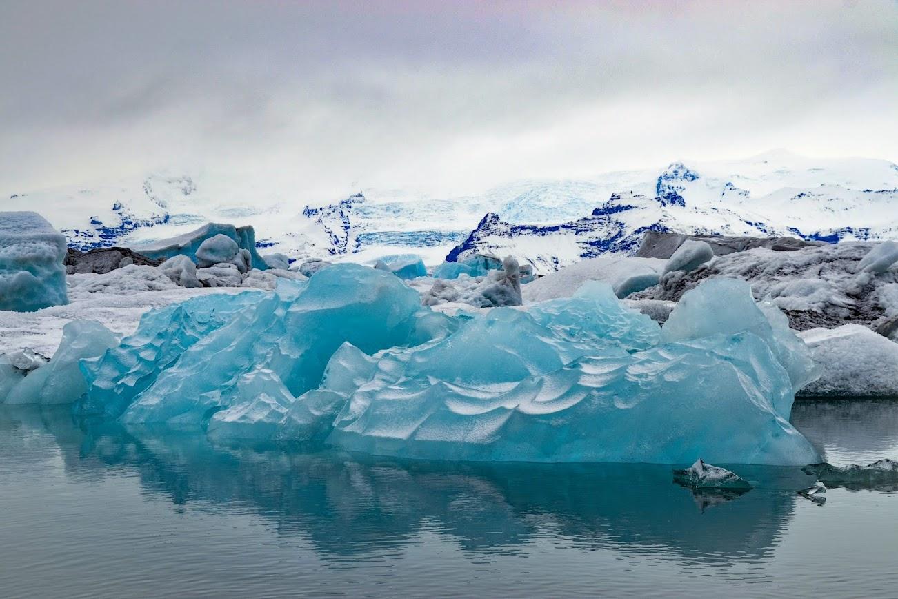 glaciar de Jökulsárlon Islandia